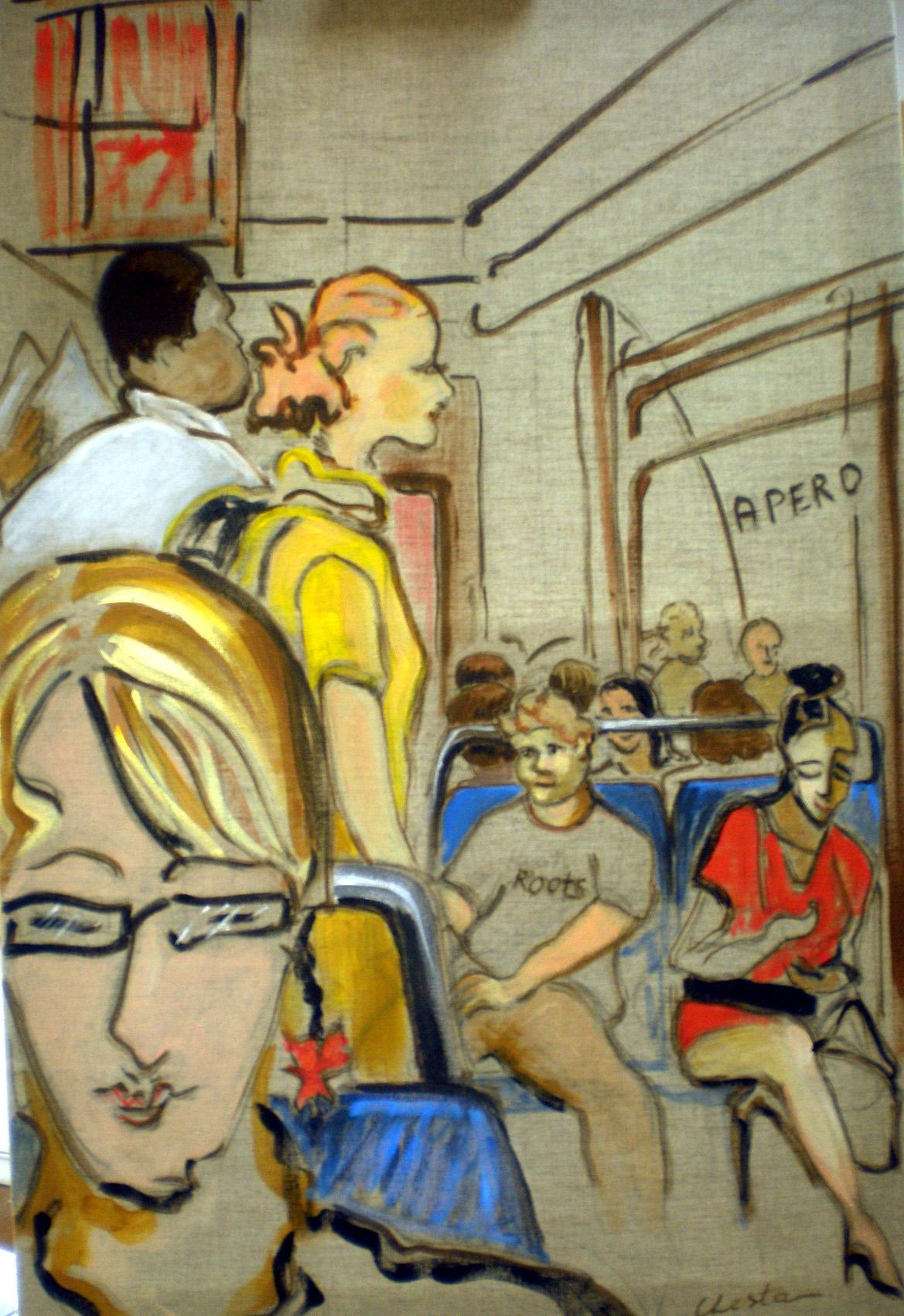 ujne nouvelle version du thème métro