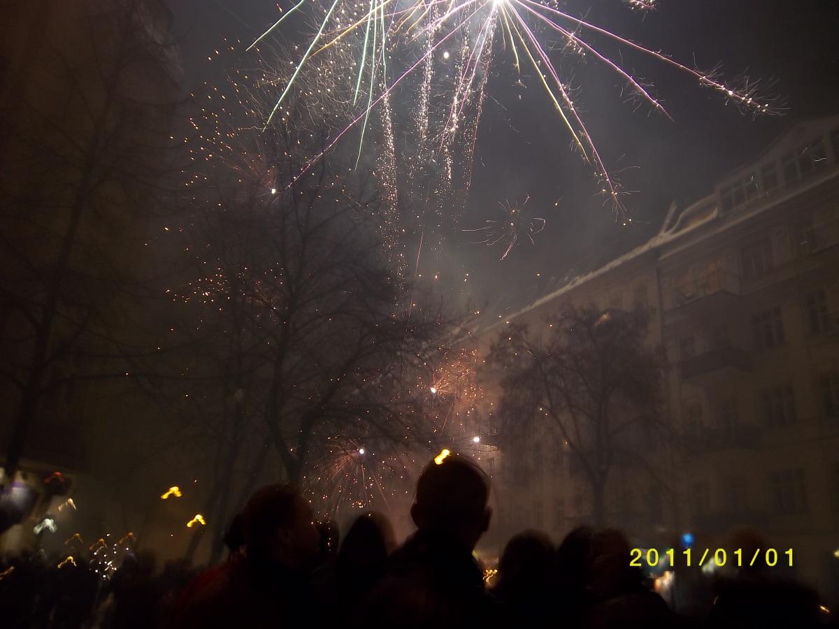 Bonne Année 2011 depuis le Café 100 Wasser à Berlin