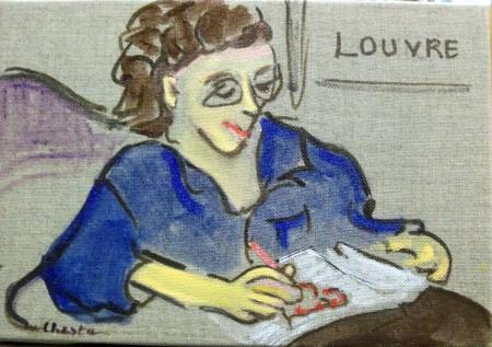 Sera-t-elle au Louvre un jour?